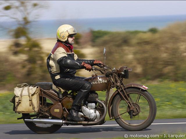 moto ancienne 23e rallye de luc sur mer moto magazine leader de l actualit de la moto et. Black Bedroom Furniture Sets. Home Design Ideas