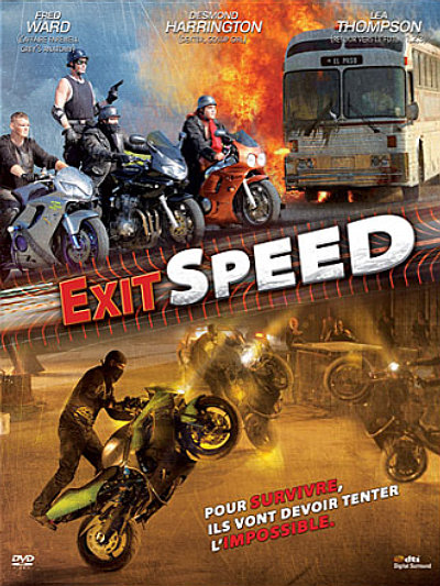 DVD fiction moto : Exit Speed