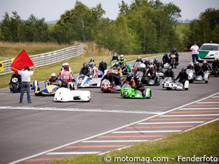 Side-car à Pau : course VMA & roulages F1/F2 sur un (...)