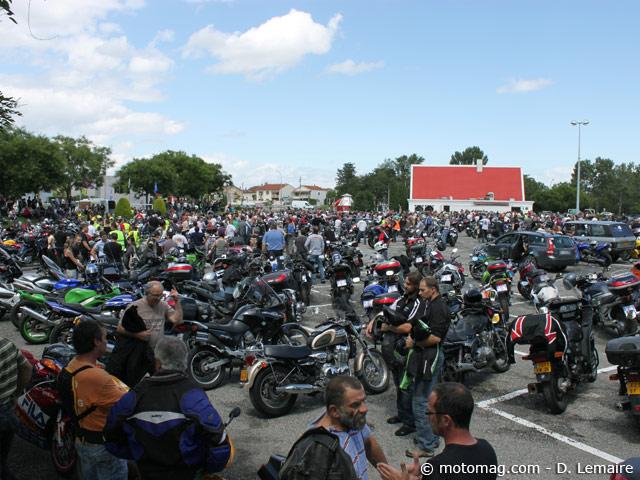 Manif 18 juin à Valence : 1000 motards dans la bonne (...) - Moto Magazine - leader de l ...