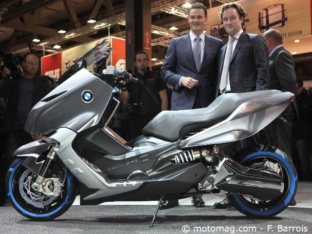 nouveaut s 2012 le maxi scooter bmw sera d voil milan moto magazine leader de l. Black Bedroom Furniture Sets. Home Design Ideas