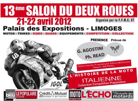Le salon de la moto de limoges recherche des italiennes for Salon de la recherche