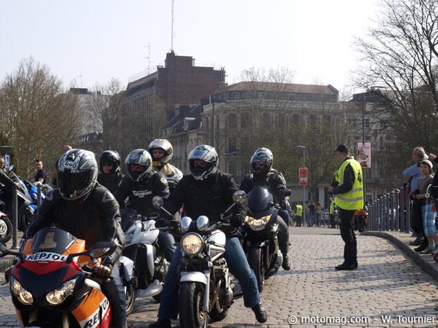 manif moto 24 mars nord 5000 motards entre lille et moto magazine leader de l. Black Bedroom Furniture Sets. Home Design Ideas