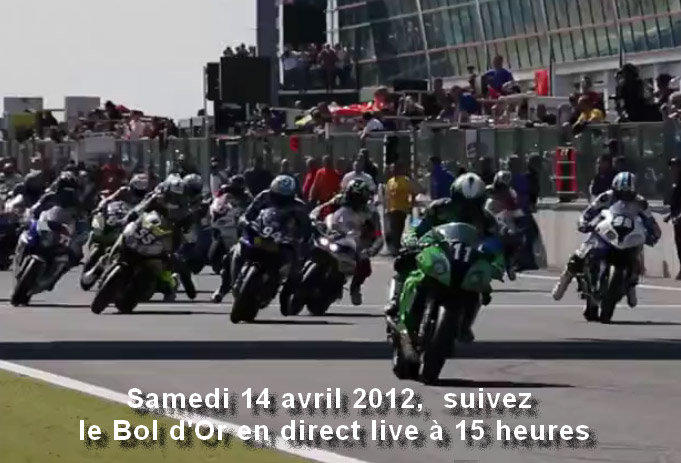Bol d'Or : la course en direct en streaming vidéo (...)