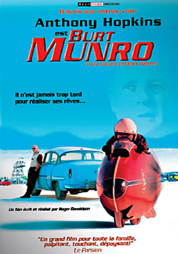 DVD moto fiction - Burt Munro