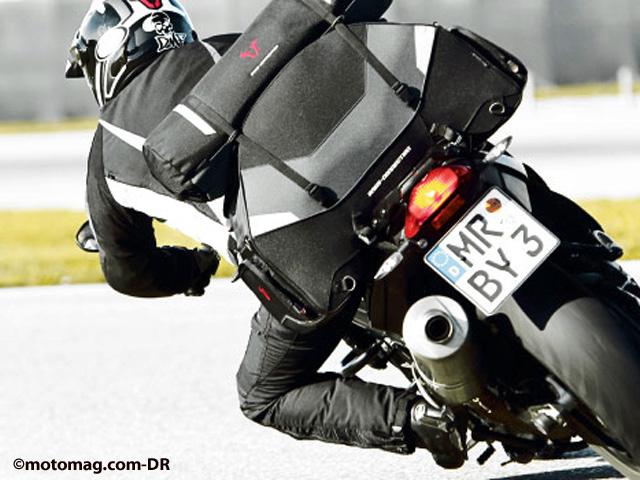 bagagerie moto sacs de selle innovants pour roadsters et moto magazine leader de l. Black Bedroom Furniture Sets. Home Design Ideas