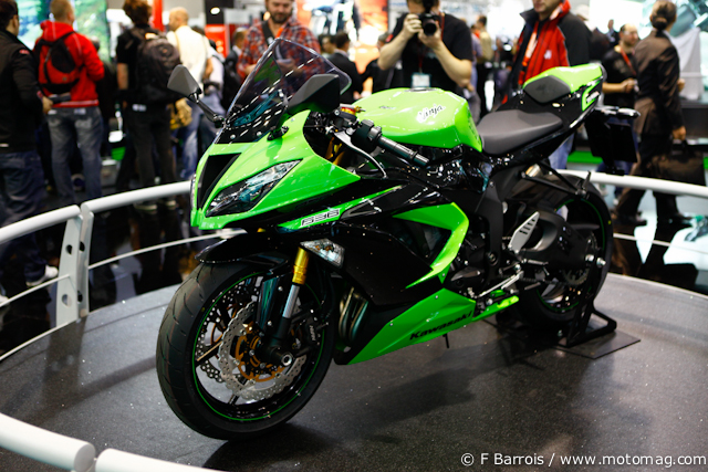Salon de Cologne 2012 : Kawasaki ZX 636 R