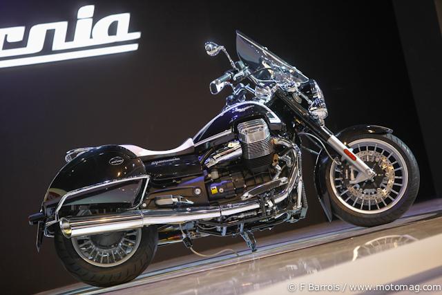 moto guzzi 1400 california salon de milan moto magazine leader de l actualit de la moto. Black Bedroom Furniture Sets. Home Design Ideas