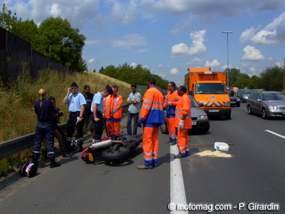 Accident mortel de moto à Bordeaux : appel à témoin