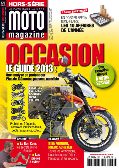 Moto Magazine hors-série Occasions 2013 : l'indispensable