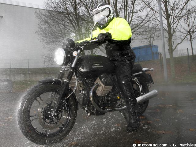Pluie Pantalons Moto Et La Le Contre Ensembles 6 Vestes zRYT74x