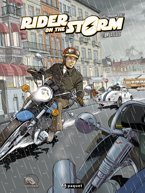 BD moto : « Rider on the Storm », polar motard sombre en (...)