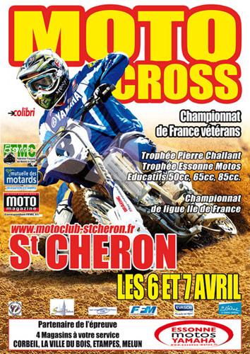 motocross saint cheron