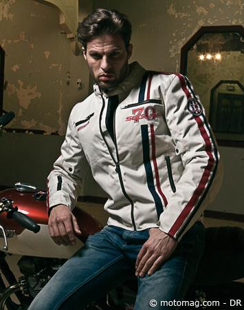 Renforcé Moto Et Magazine Strike Segura Blouson Vintage q6pBAqw