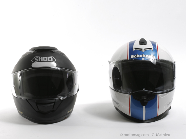 Conso : Schuberth S2 / Shoei GT-Air, le match des (...)