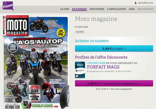 e presse moto magazine de juillet ao t sur les tablettes moto magazine leader de l. Black Bedroom Furniture Sets. Home Design Ideas