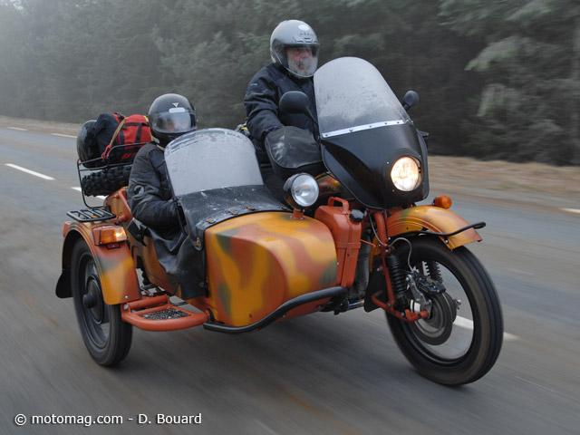 des side cars ural injection pour 2014 moto magazine leader de l actualit de la moto et. Black Bedroom Furniture Sets. Home Design Ideas