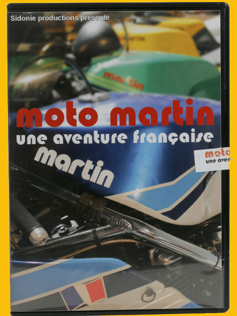 DVD MOTO MARTIN : l'excellence made in France ! (...)