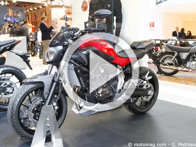 Super Nouveauté moto 2014 : la Yamaha MT-07 à Paris (+vidéo) - Moto  UH63