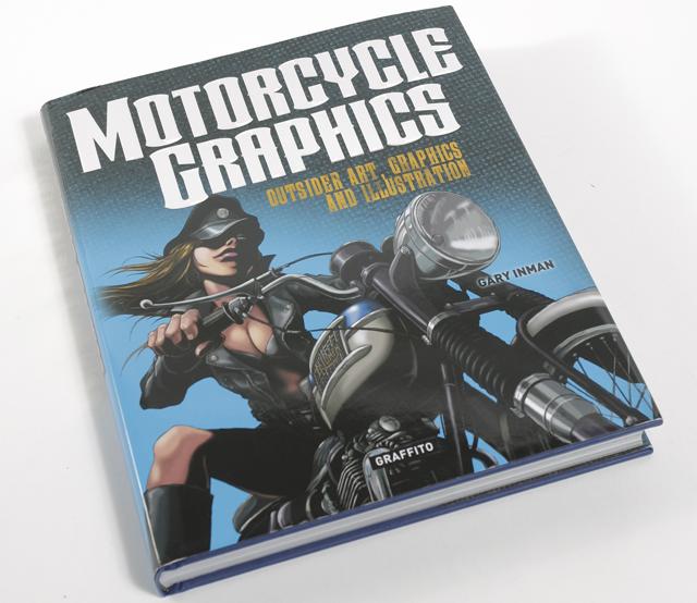 beau livre motorcycle graphics contre culture et moto magazine leader de l. Black Bedroom Furniture Sets. Home Design Ideas