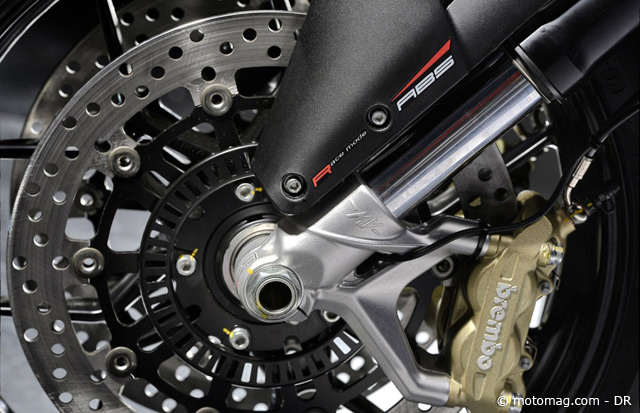 Les 3-cylindres MV Agusta adoptent l'ABS