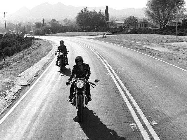 Femmes Et Moto Les Photographies Cultes De Lanakila