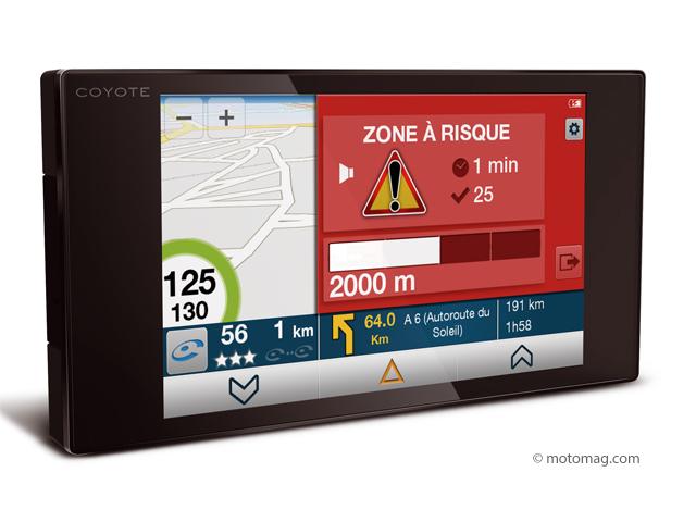 le coyote nav ajoute la navigation aux alertes radars moto magazine leader de l actualit de. Black Bedroom Furniture Sets. Home Design Ideas