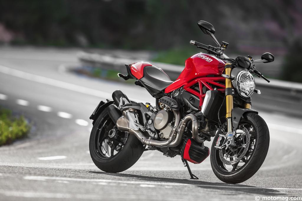 nouveaut moto ducati teste la nouvelle monster moto magazine leader de l actualit. Black Bedroom Furniture Sets. Home Design Ideas