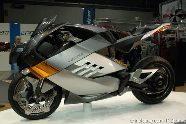 Salon de Milan : Vectrix Electric Superbike