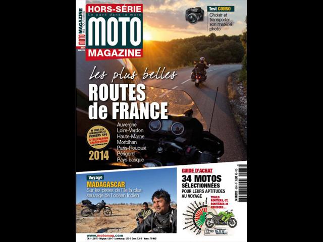 en kiosque les plus belles routes de france sont dans moto magazine leader de l. Black Bedroom Furniture Sets. Home Design Ideas