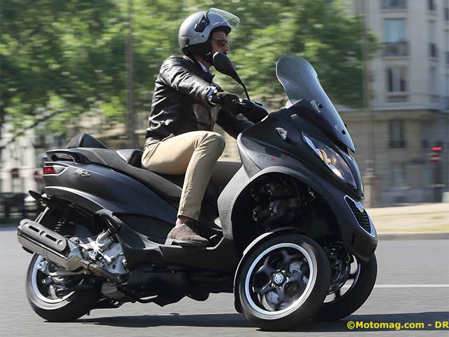 piaggio mp3 500 sport le 3 roues re oit de l assistance moto magazine leader de l. Black Bedroom Furniture Sets. Home Design Ideas