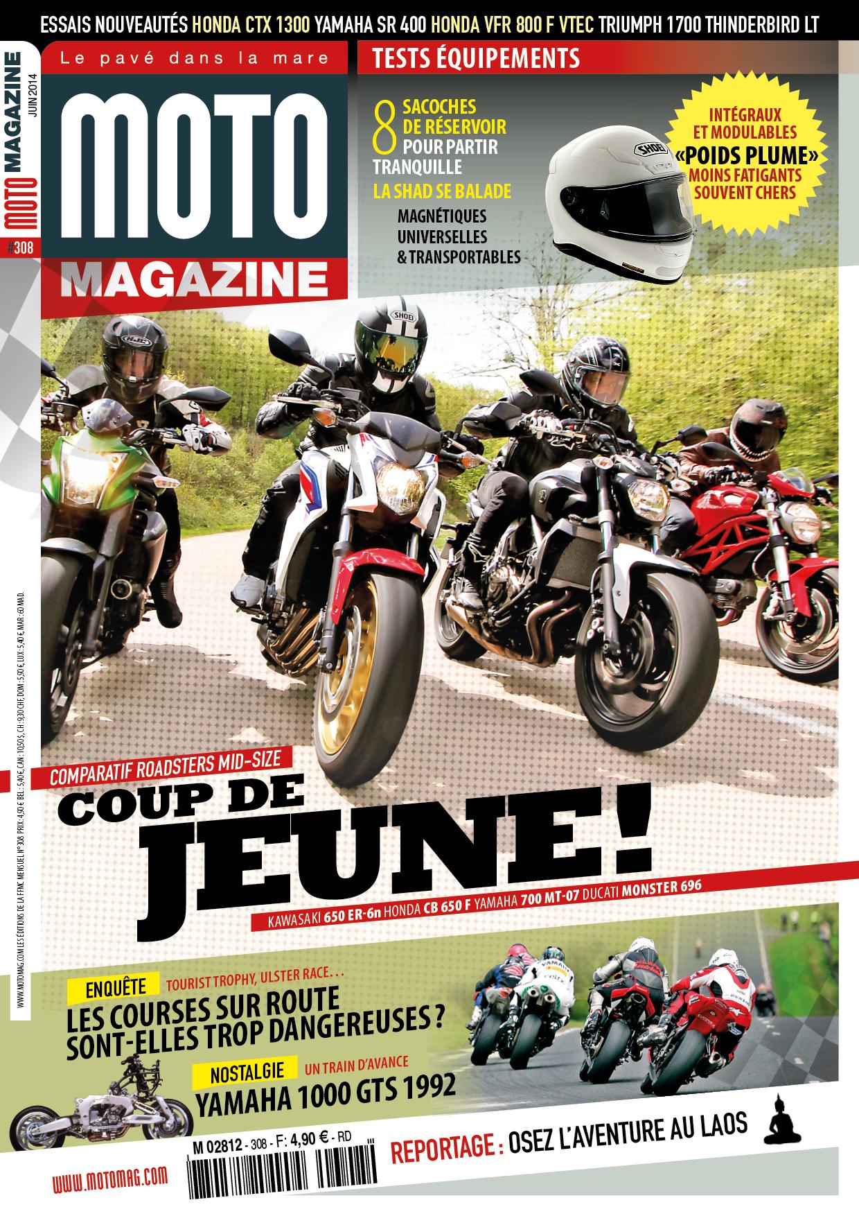 moto magazine n 308 juin 2014 moto magazine leader de l actualit de la moto et du motard. Black Bedroom Furniture Sets. Home Design Ideas