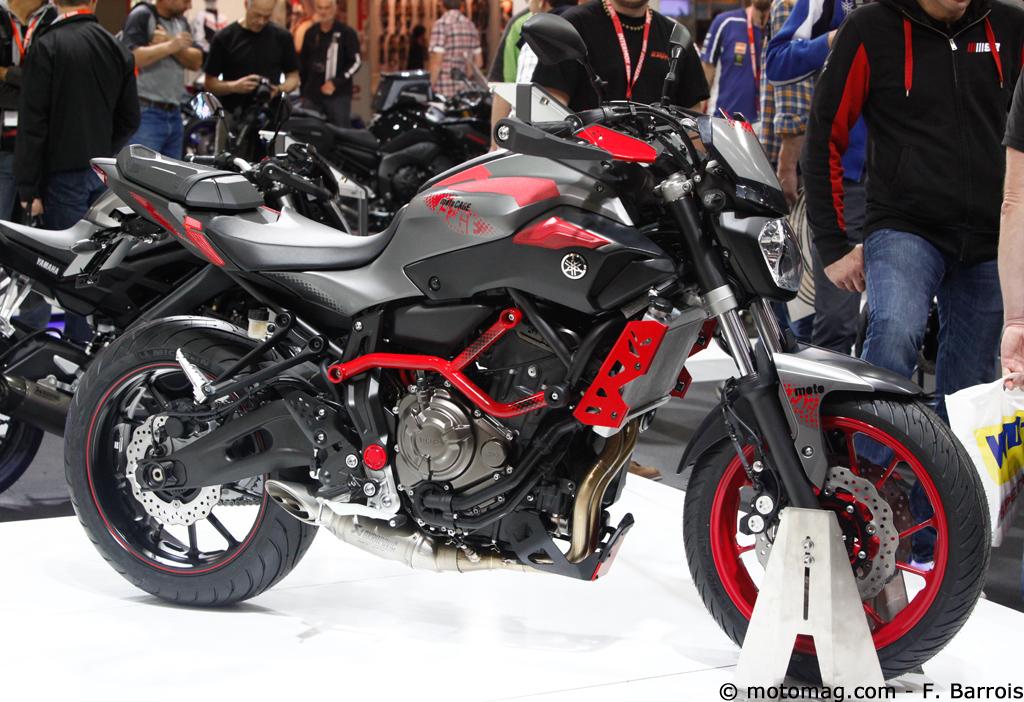 nouveaut moto 2015 yamaha mt 07 motocage effort moto magazine leader de l. Black Bedroom Furniture Sets. Home Design Ideas