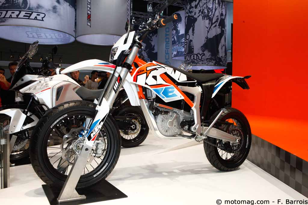 Nouveauté moto 2015 : KTM Freeride E-SM, l'alternative