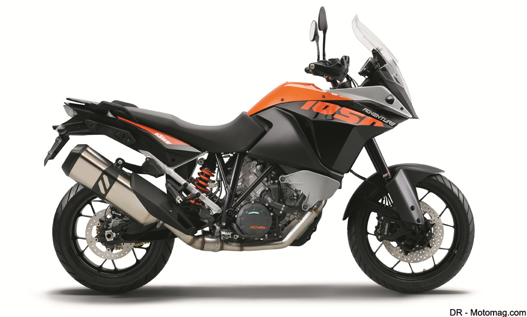 nouveaut moto 2015 ktm 1050 adventure l accessible moto magazine leader de l. Black Bedroom Furniture Sets. Home Design Ideas