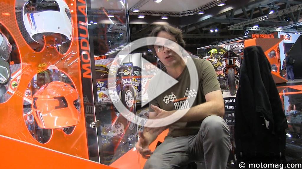Salon de milan 2014 le tour des quipements pour la moto - Salon de la moto tours ...
