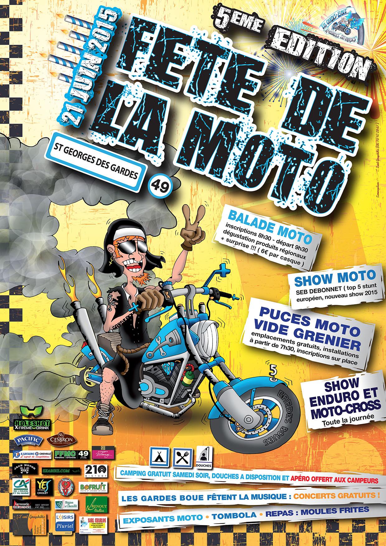 f te de la moto des gardes boue moto magazine leader de l actualit de la moto et du motard. Black Bedroom Furniture Sets. Home Design Ideas