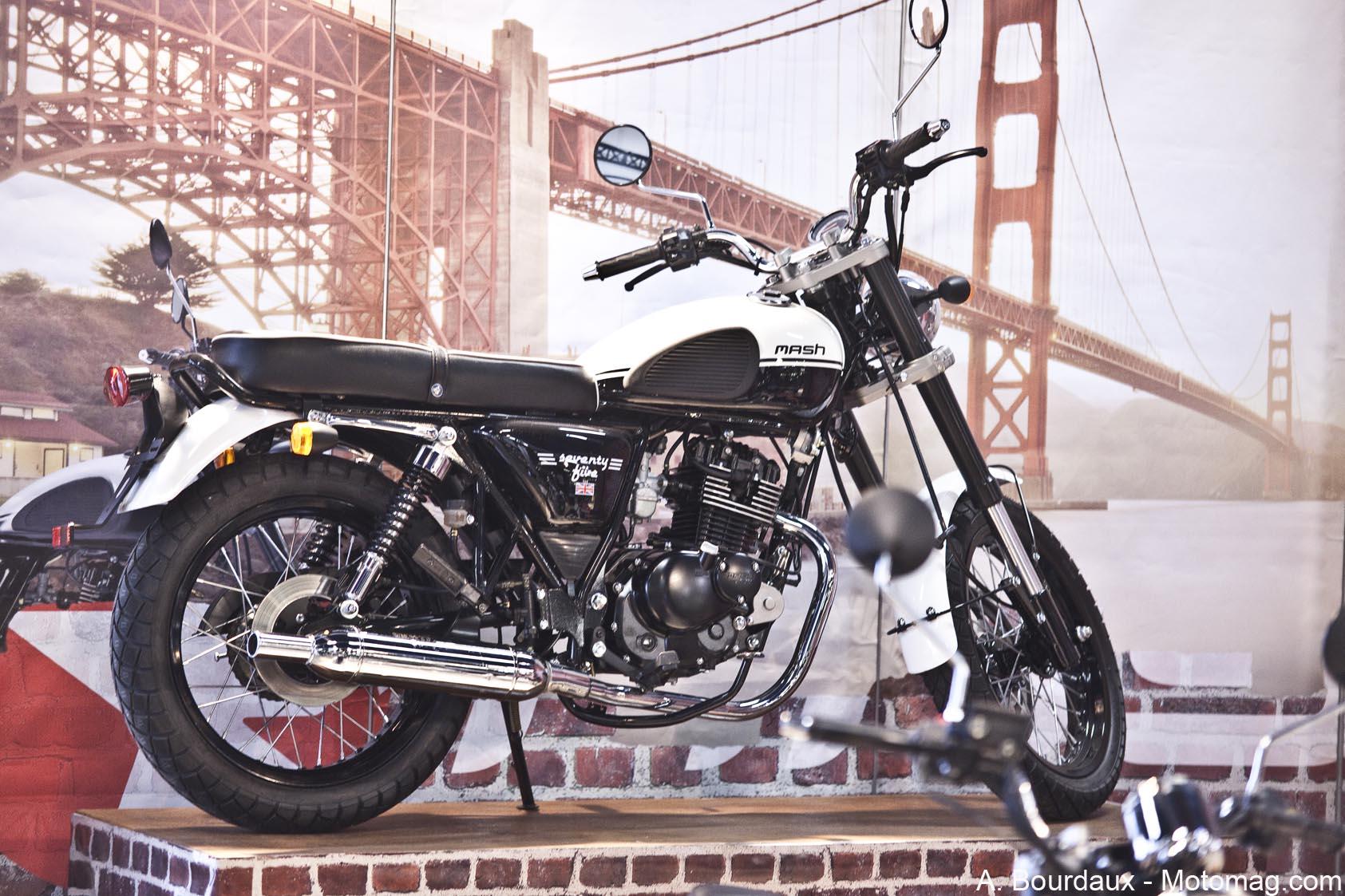 mash 125 seventy five belle et facile moto magazine leader de l actualit de la moto et du. Black Bedroom Furniture Sets. Home Design Ideas
