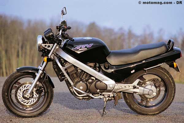 honda 650 ntv moto magazine leader de l actualit de la moto et du motard. Black Bedroom Furniture Sets. Home Design Ideas