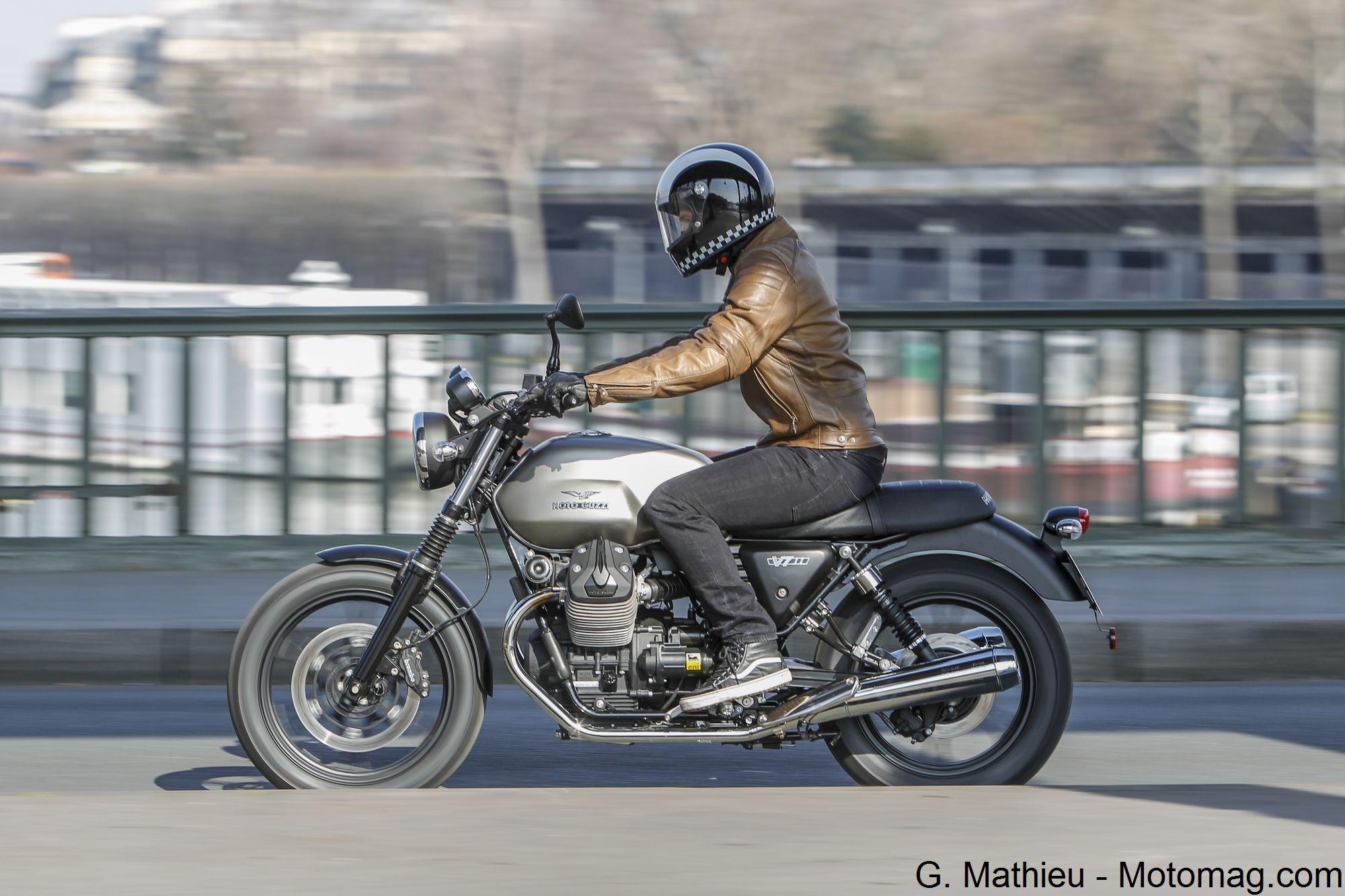 Forum motomag - Sujet : Essai Moto Guzzi V7 II Stone
