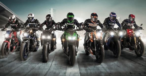 Économie de la moto : Shark, Bering, Segura et Bagster (...)
