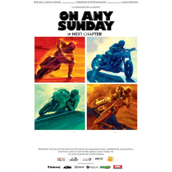 DVD moto : « On Any Sunday the next chapter »