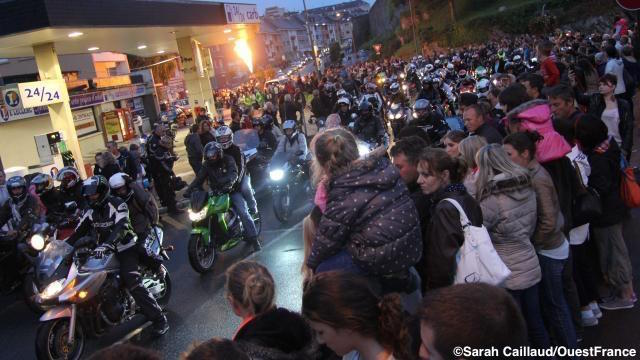 Saint-Lô (50) : 3.700 motards défilent au 31e rassemblement