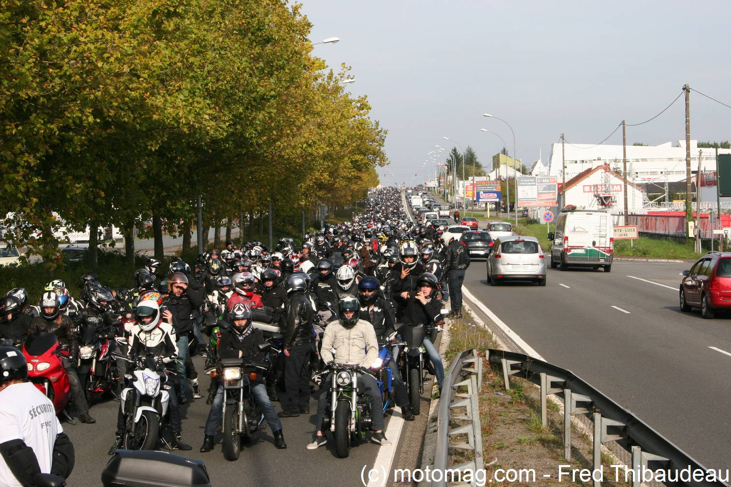 manifestation ffmc nantes motards en p tard moto magazine leader de l actualit de. Black Bedroom Furniture Sets. Home Design Ideas