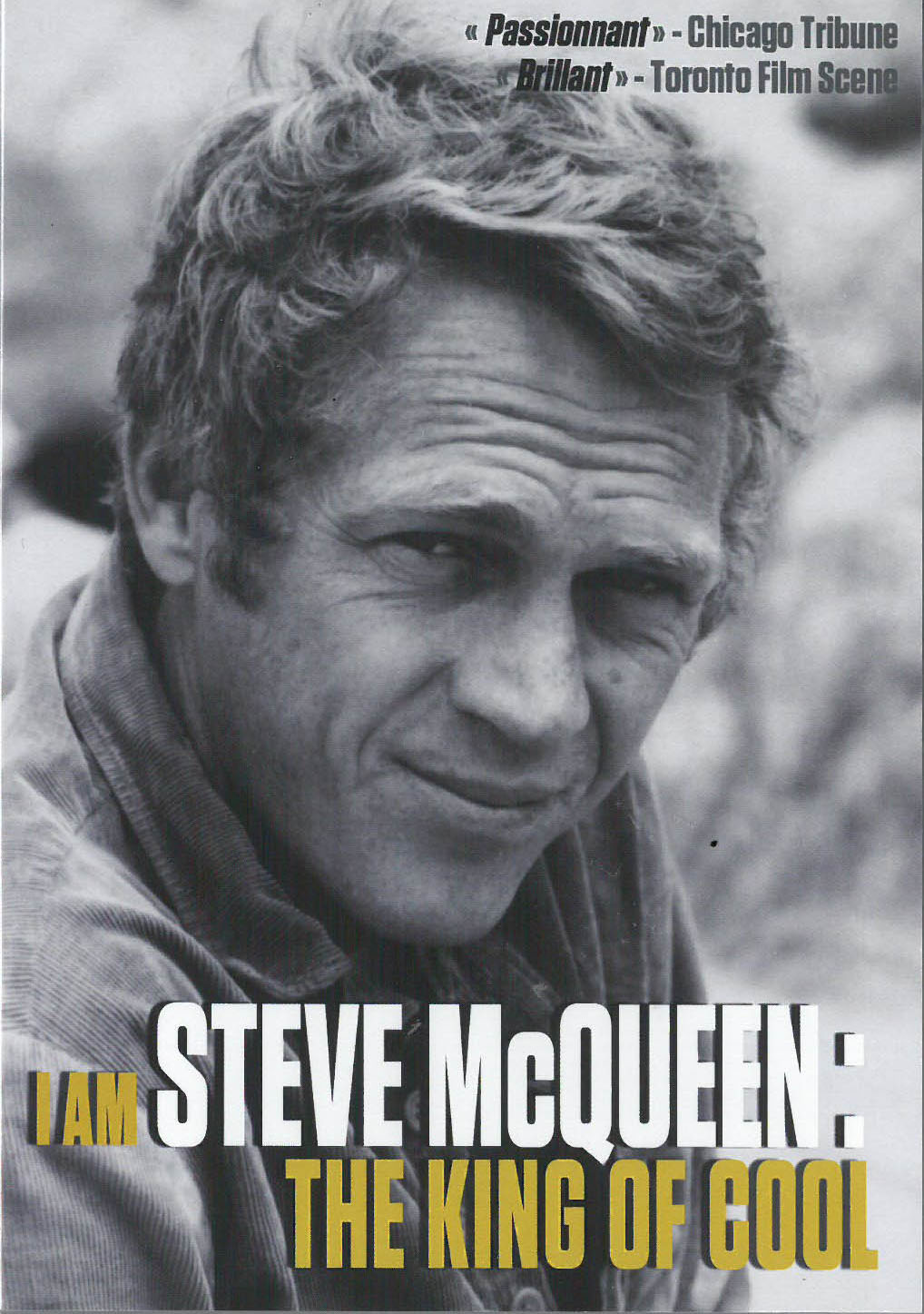 DVD : « I Am Steve McQueen, The King of Cool »