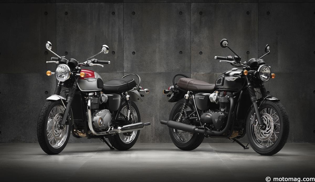 nouveaut moto 2016 triumph pr sente la bonneville t120 et moto magazine leader de. Black Bedroom Furniture Sets. Home Design Ideas