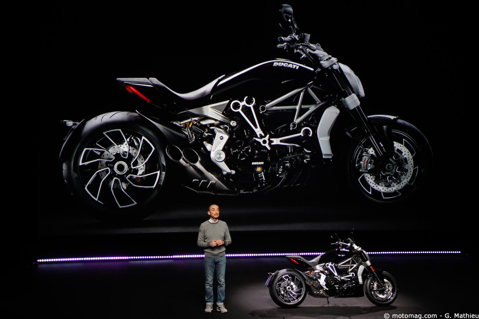 nouveaut moto 2016 ducati xdiavel moto magazine leader de l actualit de la moto et du motard. Black Bedroom Furniture Sets. Home Design Ideas
