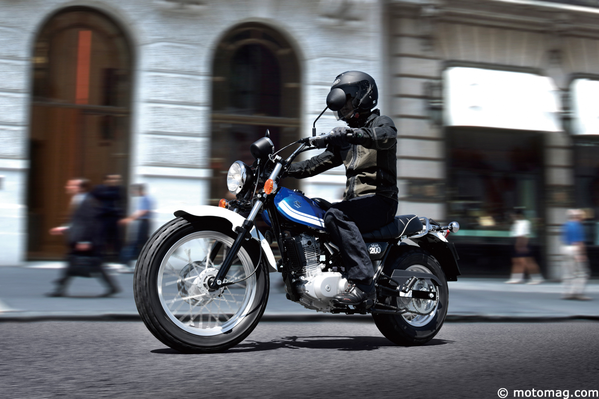 nouveaut moto 2016 suzuki van van 200 moto magazine leader de l actualit de la moto et. Black Bedroom Furniture Sets. Home Design Ideas