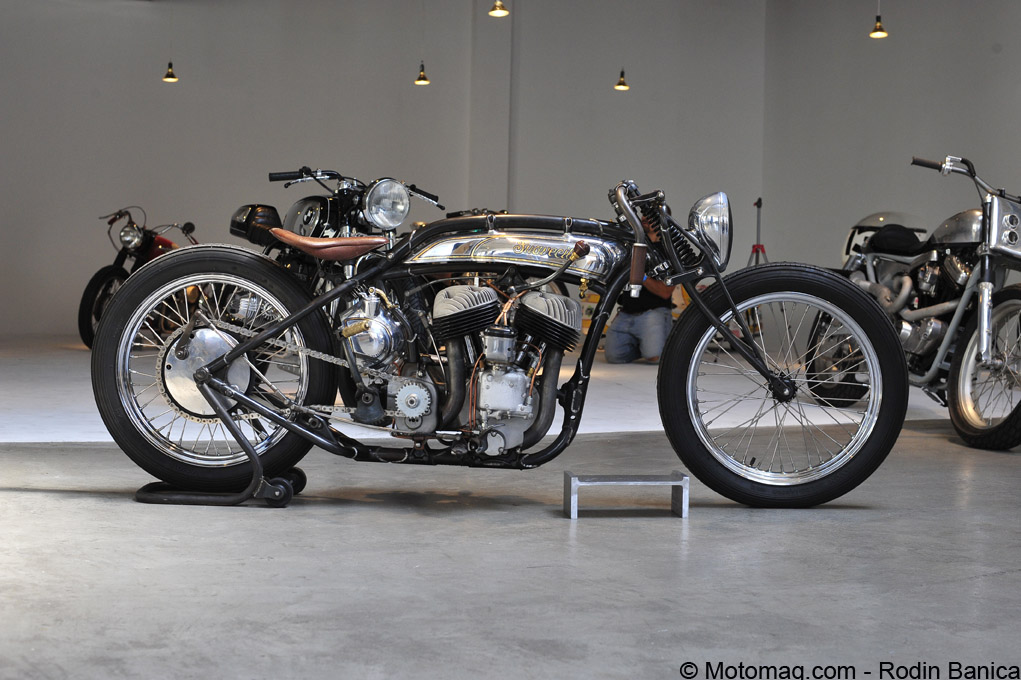 Custom : The Brooklyn Invitational Motorcycle Show 2015 (...)