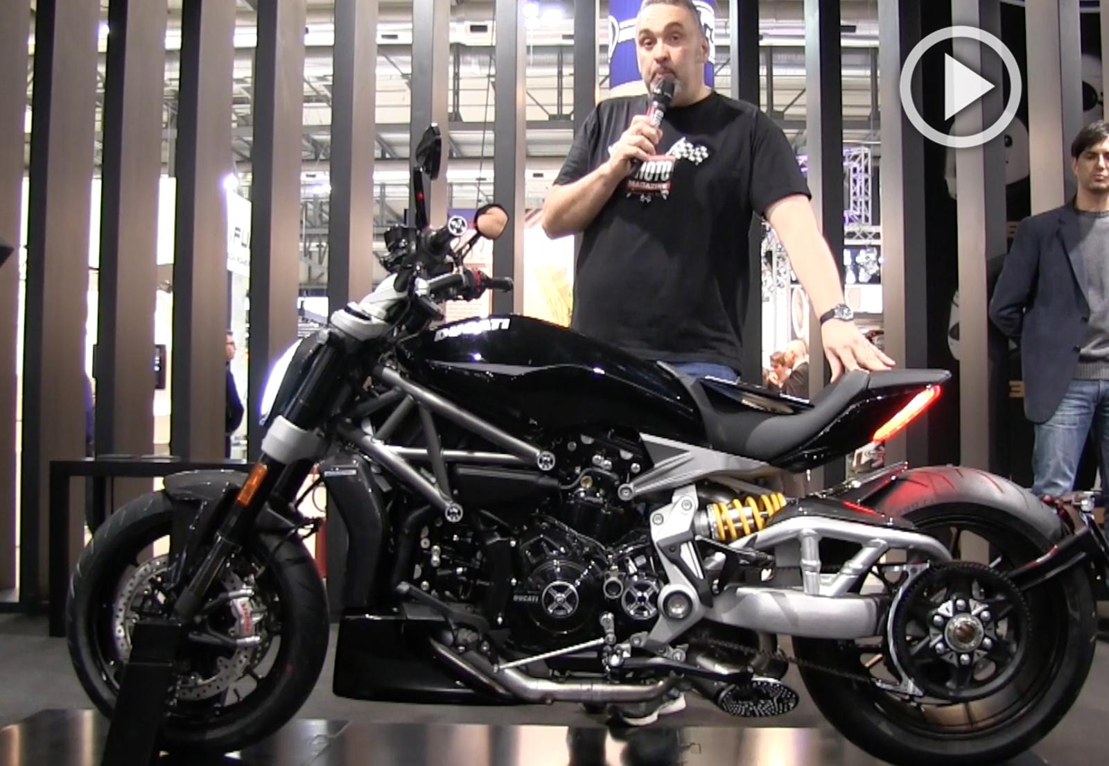 Salons moto 2015 les ducati 2016 en vid o moto for Salon moto milan 2017